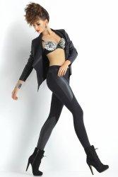 Legginsy Klasyczne Model Plush Lily Black