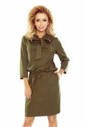 Sukienka Model 177-1 Zuzia Khaki