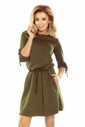 Sukienka Model 176-2 Ewa Khaki