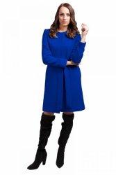 Płaszcz Damski Model PLA025 Blue