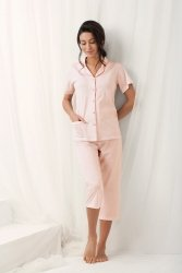Piżama Damska Model Brenda 573 Morela
