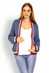 Sweter Ciążowy Model 60004C Jeans