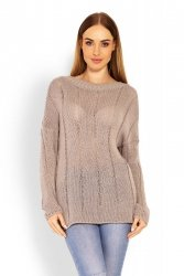 Sweter Model 40007 Cappuccino