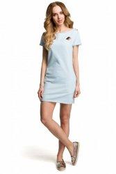 Sukienka Model MOE374 Sky Blue