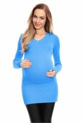 Sweter Ciążowy Model 70024 Jeans