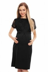 Sukienka Ciążowa Model 0127 Black