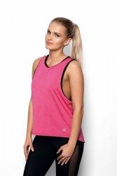 Koszulka damska S-L Fitness ABEL Pink/Black
