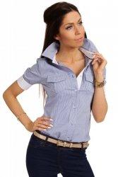 Koszula MOE027 Blue