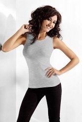 Bluzka damska L/XL bez rękawów Grey Melange