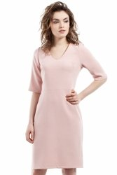 Sukienka Model MOE215 Powder Pink