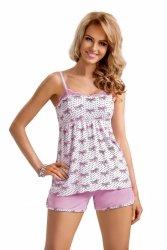 Piżama Damska Model Tifani 1/2 Light Pink
