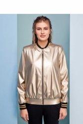 Kurtka w nowoczesnym stylu GR1432 Gold