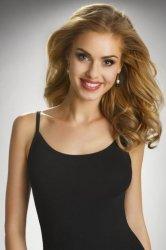 Koszulka damska M-XL na ramiączkach Lila Black
