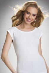 Bluzka Model Idalia Ecru