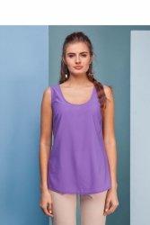 Lekka, elegancka koszulka GR1440 Liliowy