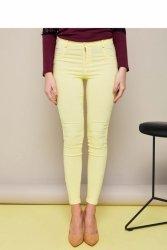 Spodnie w stylu GR1301 denim Yellow