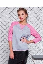 Elastyczna bluzka sportowa GR1160 Pink