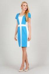 Sukienka wizytowa model 407 Blue