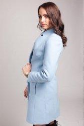 Płaszcz damski PLA019 baby-blue