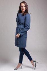 Płaszcz damski PLA026 jeans