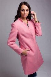 Płaszcz damski PLA029 pink