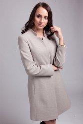 Płaszcz damski PLA029 beige
