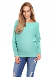 Sweter ciążowy 70003C Miętowy