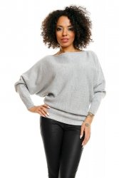 Sweter model 70003 Light Gray