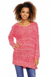 Sweter model 70005 Neon Coral