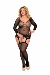 Bodystocking PLUS SIZE XL-3XL ADILA