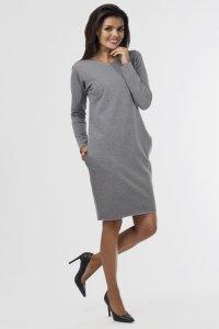 Sukienka dresowa D-020 Gray Melange