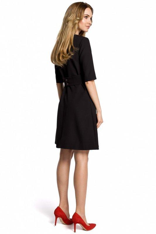 4197d7e5c6 Sukienka Model MOE362 Black - Sukienki dzienne - Sukienki - Odzież ...