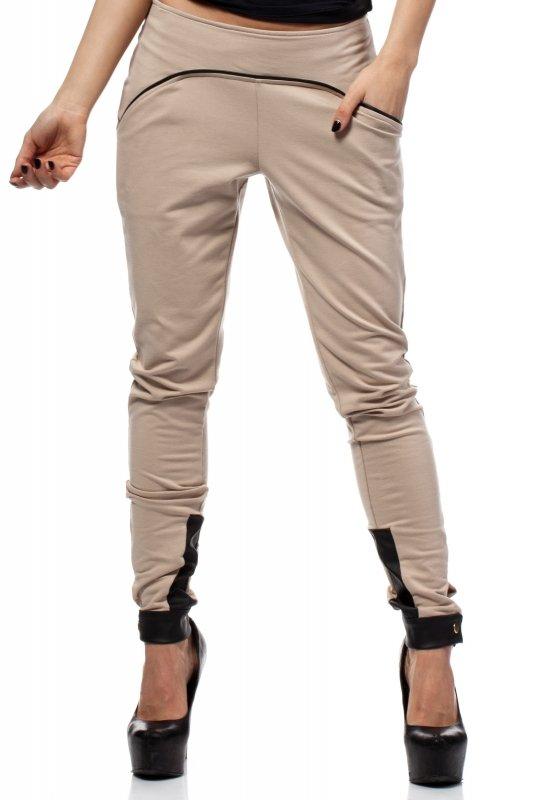 Spodnie-Damskie-Model-MOE157-Beige