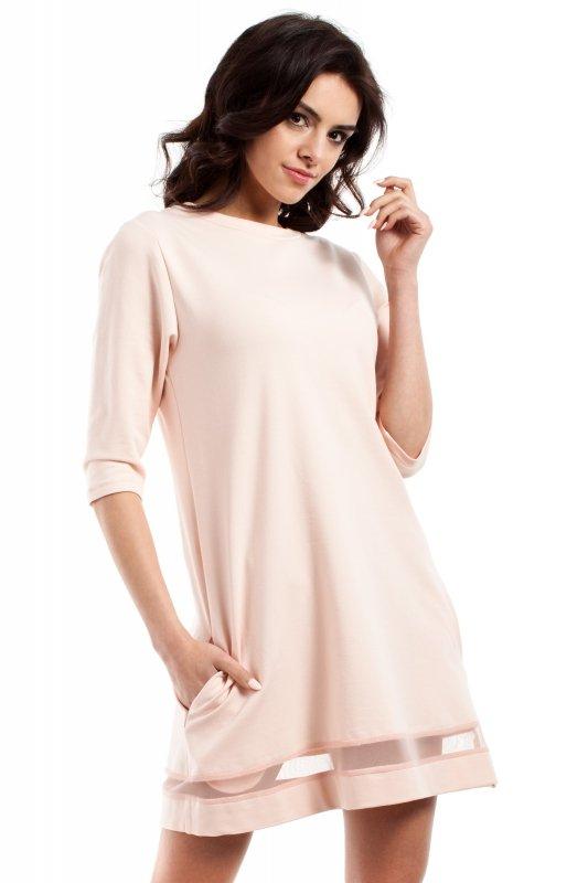 Sukienka Model MOE219 Peach
