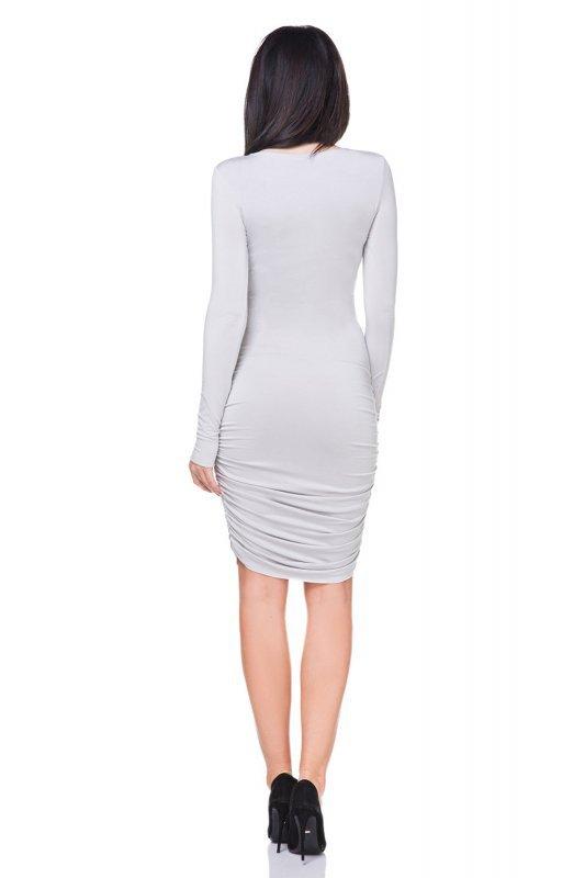 Sukienka Model T160 Light Grey