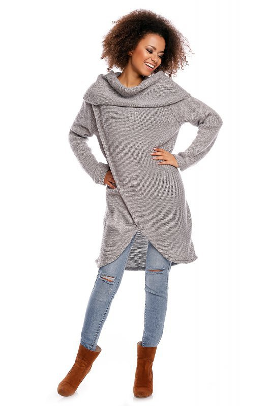 Sweter model 30051 Light Gray