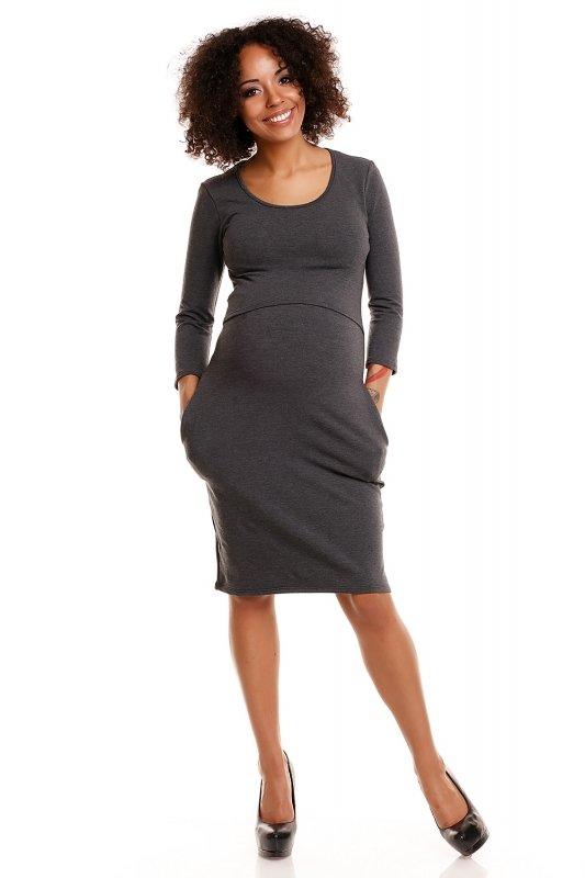 Sukienka model 1445 Graphit