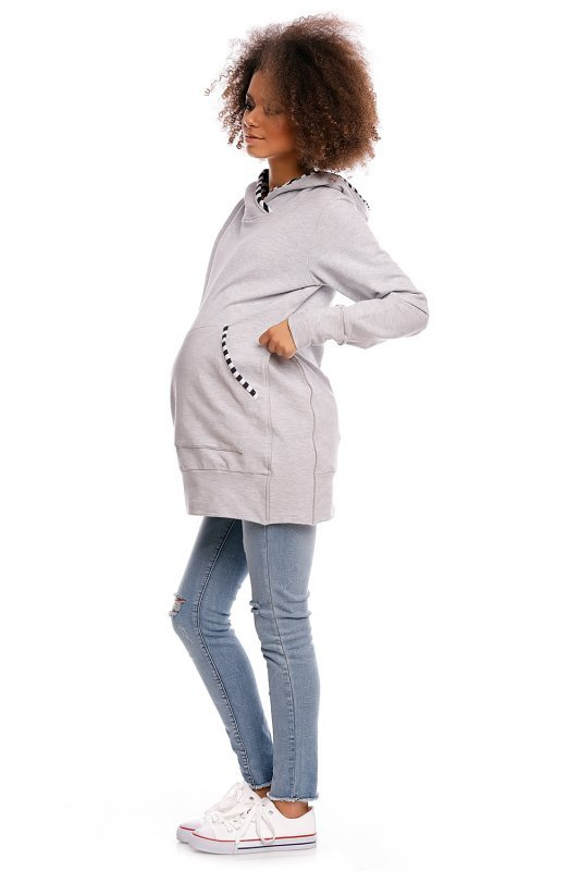 Bluza model 1481 Light Gray