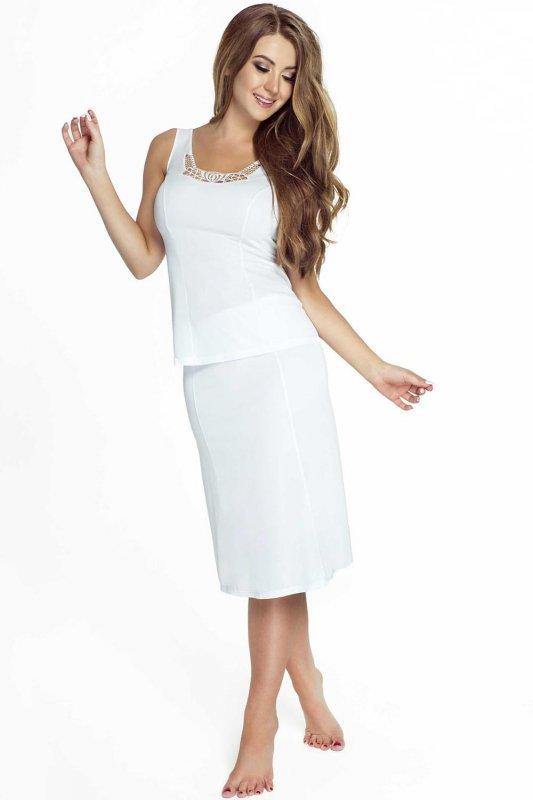 9f6518292c5d70 Halka damska plus size 40-58 Model 4141 White - XELKA odzież damska ...