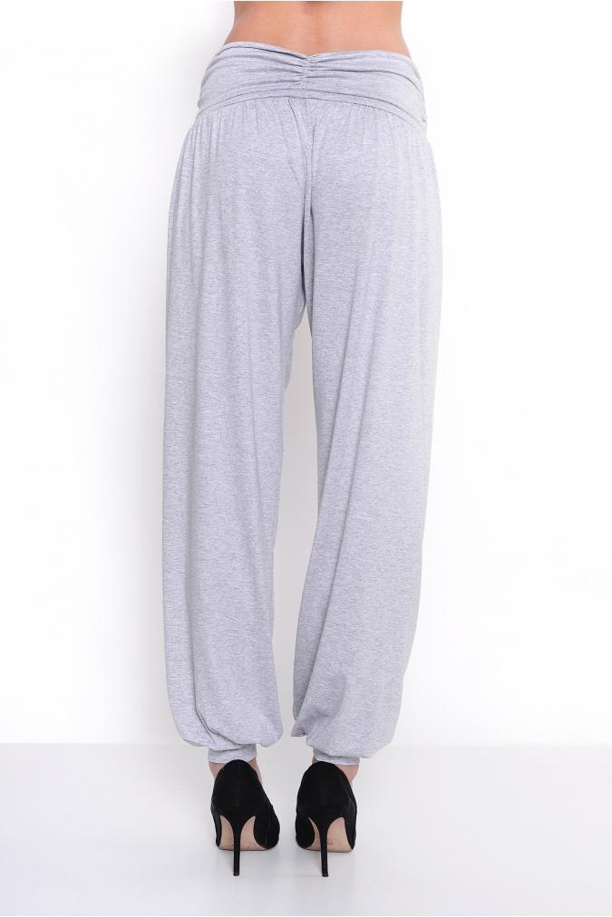 Spodnie-damskie-plus-size-xl-xxl-dla-puszystych--ALLADYNKI-dlugie-luzne-szare-tyl