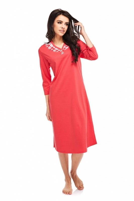 Koszula Nocna Model Rosabella 238 Red