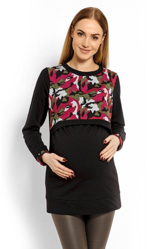 Bluzka Ciążowa  1627C czarna