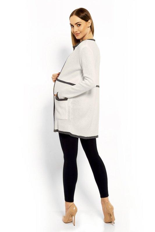 Sweter Ciążowy Model 40004C Ecru