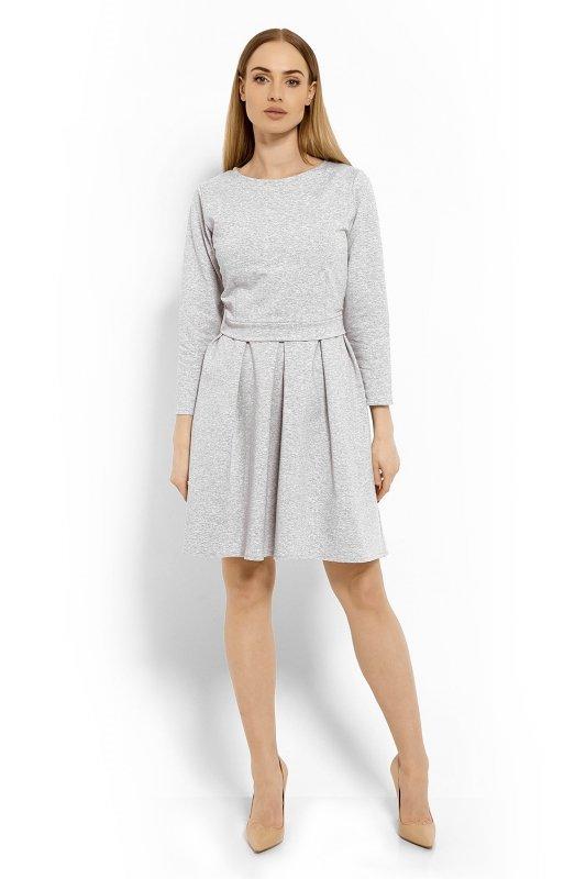 Sukienka Model 1628 Light Grey