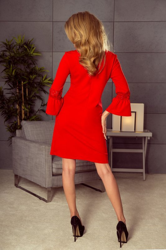 Sukienka-Model-190-3-Margaret-Red-na-wesele-chrzest-randka