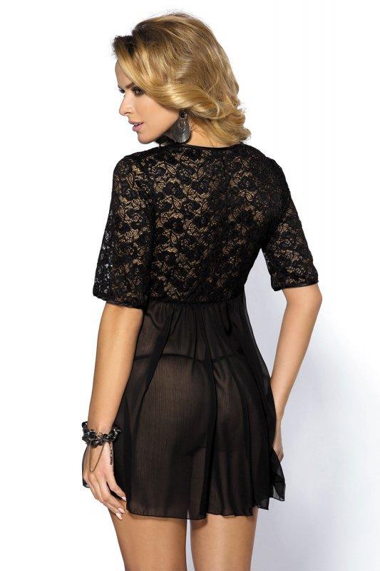 Komplet damski erotyczny L-XXXL GEORGIA Black