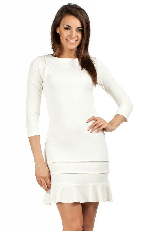 Sukienka Model MOE114 Ecru