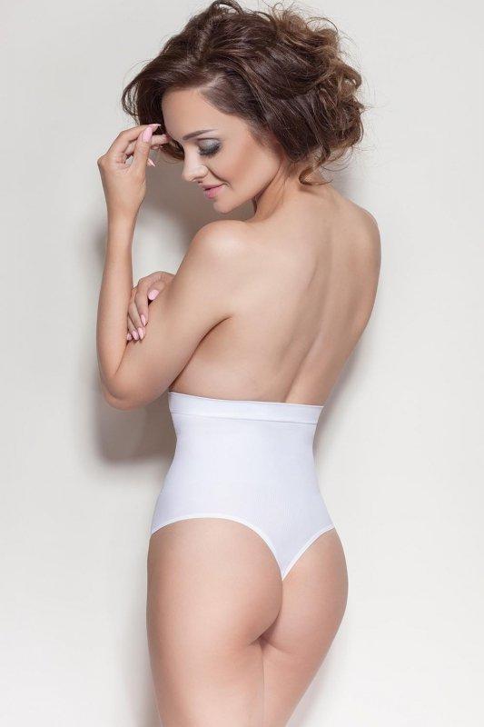 Stringi-damskie-wyszczuplajace-XXL-Model-Elite-VS-White