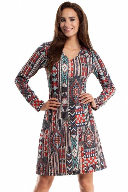 Sukienka Model MOE257 Boho Multicolor