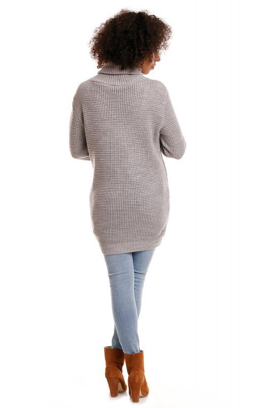 Sweter model 30044C Light Gray
